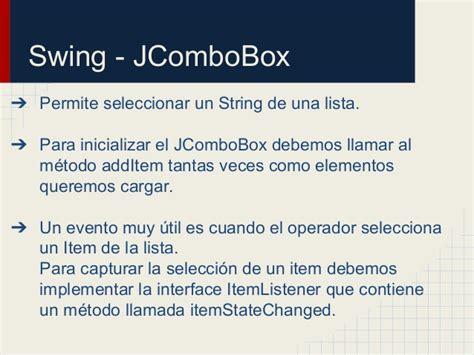 swing jcombobox 10 polimorfismo java