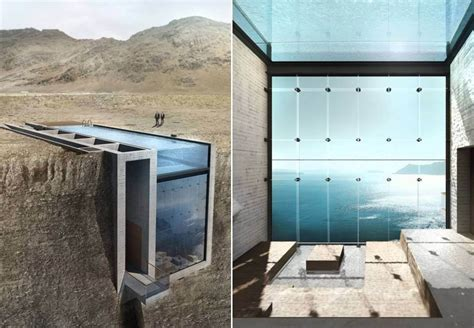 built with someone s designed a dream house built into a cliff with