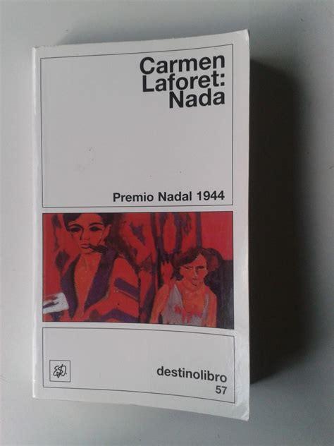 libro nada libro nada carmen laforet op4 130 00 en mercado libre