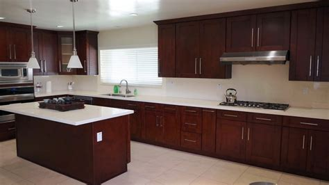 white kitchen cabinets  pulls  knobs red mahogany