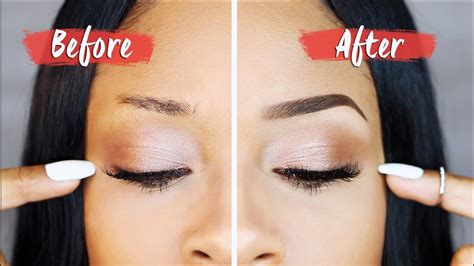 how to bomb brows how to get eyebrows