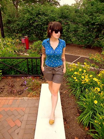 Closet Exchange Abington Pa by Molly Energie Print Polo Vintage Unknown Tweed Shorts Report Moccasin Wedges