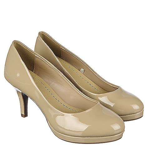 shiekh andi  womens beige  heel dress shoe shiekh shoes
