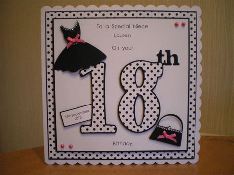 Handmade 18 Birthday Cards - handmade 18 birthday cards alanarasbach
