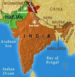 India Pakistan Map by Anthropology Of Accord Mondaymap Geographic And