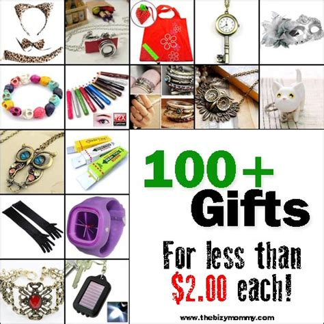 100 gifts you can buy for 2 00 or less mom hacks