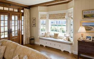Modern Curtain Valance How To Solve The Curtain Problem When You Have Bay Windows