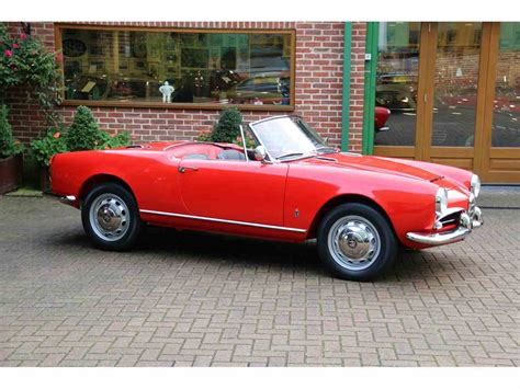 Alfa Romeo Giulia For Sale by 1962 Alfa Romeo Giulia Spider For Sale Classiccars