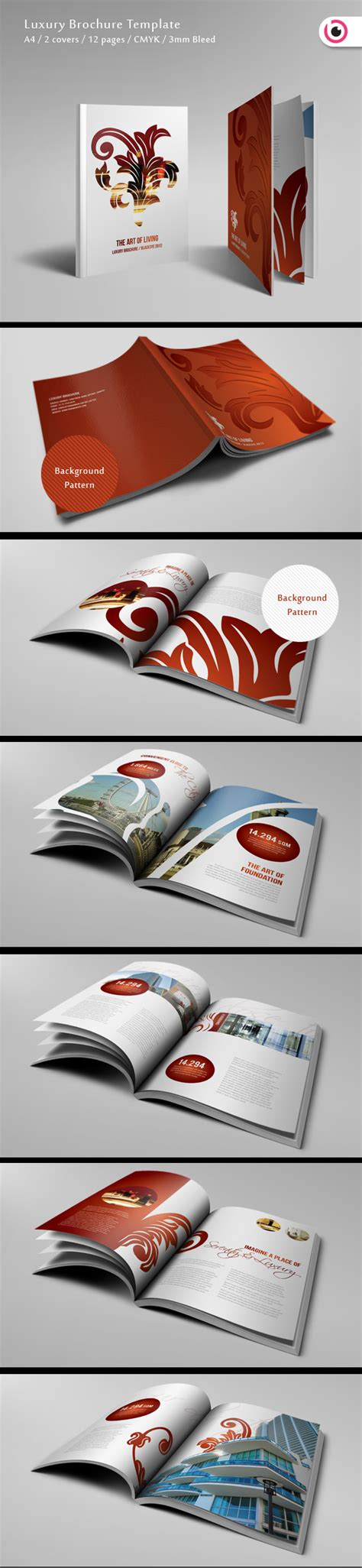 Luxury Brochure Template by 30 Brochure Design Inspirations Web3mantra