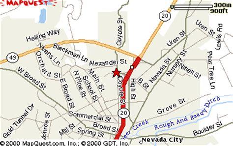 california map nevada city nevada city ca map laminatoff