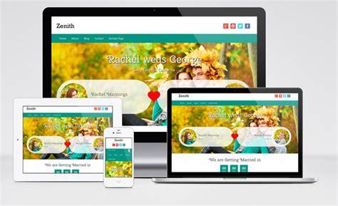 wordpress themes zenith zenith бесплатный адаптивный шаблон для свадебного сайта