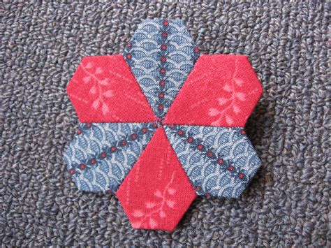pattern and shape blog english paper piecing hexagons and more always playing