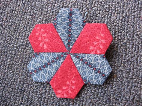 Piecing Patchwork - paper piecing hexagons and more always