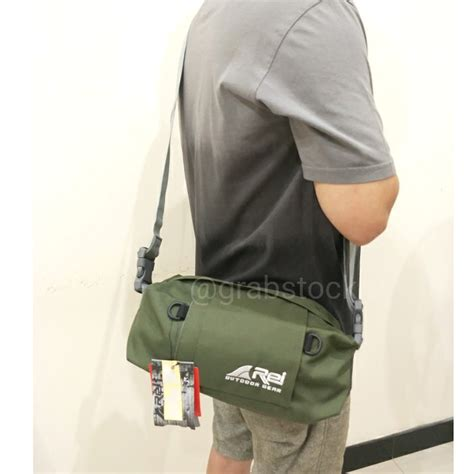 Sling Bag Multifungsi rei selempang sling bag multifungsi fastune hijau shopee
