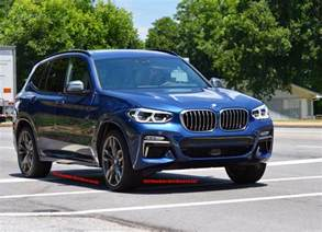 new bmw x3 m40i seen for the time on the road i