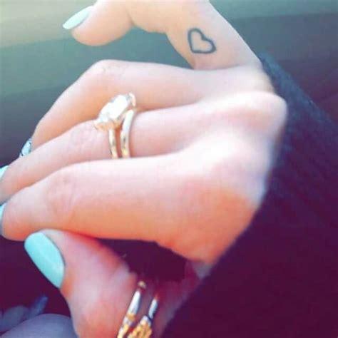 best friend finger tattoos 17 best images about l o v e on lennon