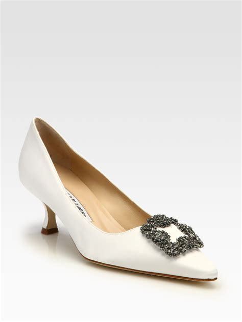 Manolo Heels manolo blahnik kitten heels is heel