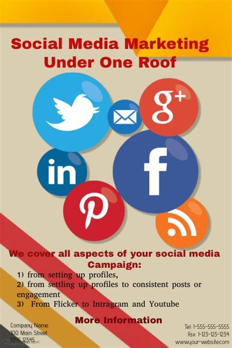 design poster social media social media marketing postermywall
