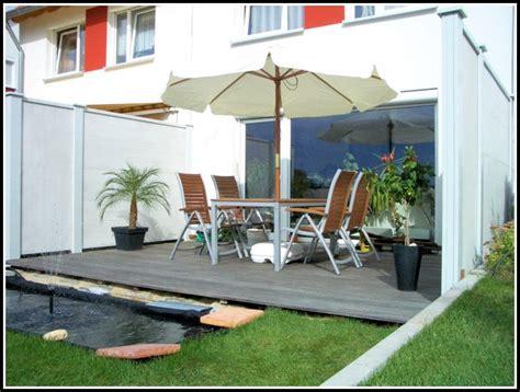 veranda reihenhaus reihenhaus sichtschutz terrasse terrasse hause