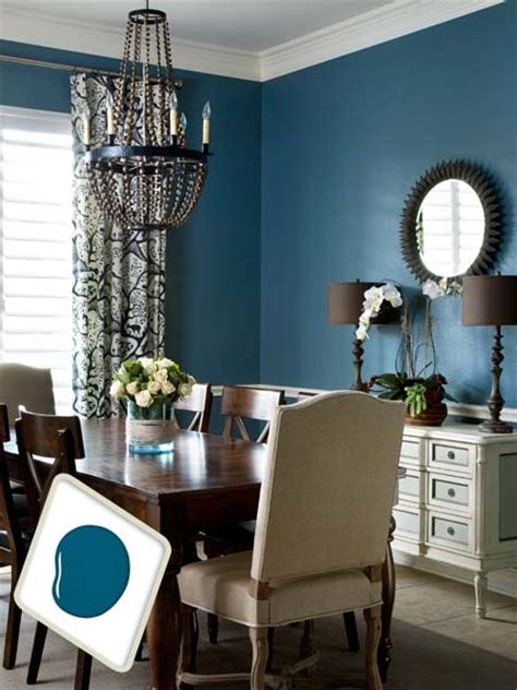 bold dining room colors azure jazz favorite paint colors bloglovin