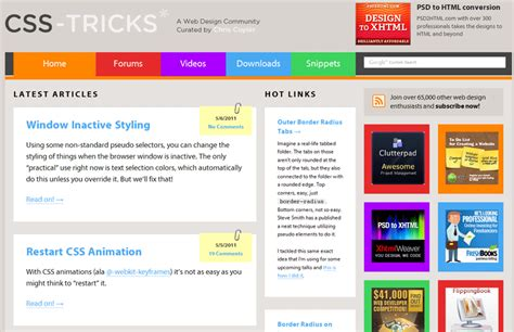 design a web page layout using css 10 css resources that will sharpen your web design skills