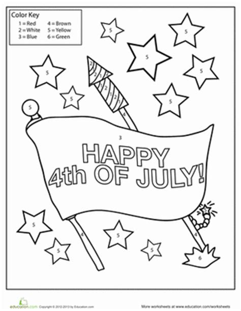 happy 4th of july color by numbers coloring book for adults a patriotic color by number coloring book with american history summer color by number coloring books volume 28 books 4th of july color by number worksheet education