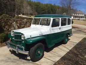 Jeep Wagon 1960 Jeep Willys Wagon For Sale Autos Classic