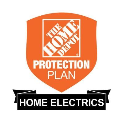 the home depot 2 year protection plan for home electrics