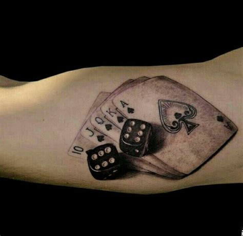 dice tattoo meaning cards and dice tattoos ink tattoos dice