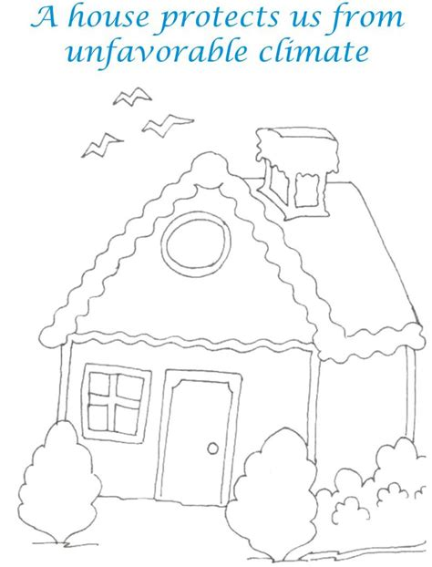 the sweethome sheets sweet home coloring printable page for kids 7