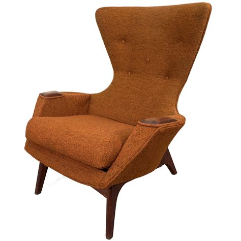 wing armchairs adrian pearsall high back wing armchair at 1stdibs