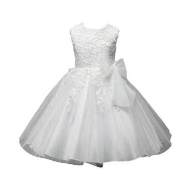Verina Baby Dress Anak Putih by Jual Pakaian Baju Anak Perempuan Branded Harga Bersaing