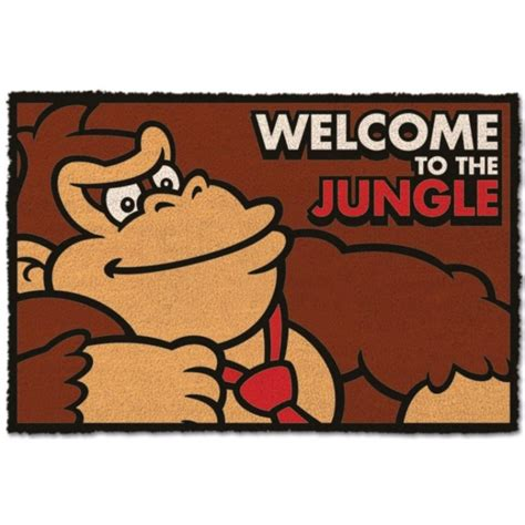 felpudo donkey kong felpudo donkey kong welcome to the jungle solo 28