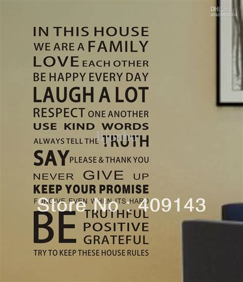in this house wall sticker fashion home in this house removable vinyl pvc wall sticker diy 3d room wall decal