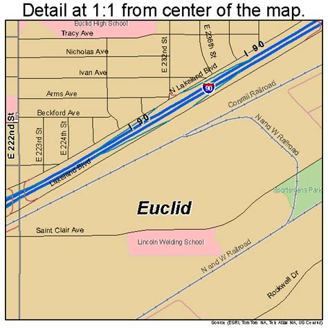 map of euclid ohio euclid oh pictures posters news and on your