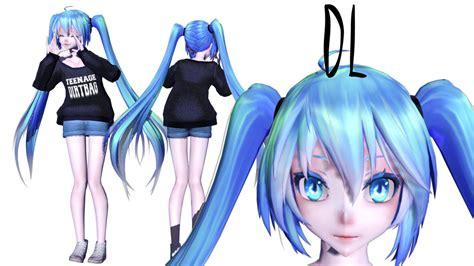 Mmd Miku Model
