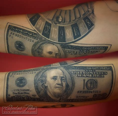 100 dollars 654x643 328 kb tattoo tattoo maze