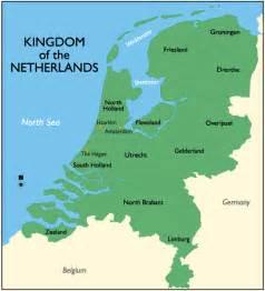 netherlands map below sea level the netherlands