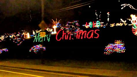 abbotsford christmas lights youtube