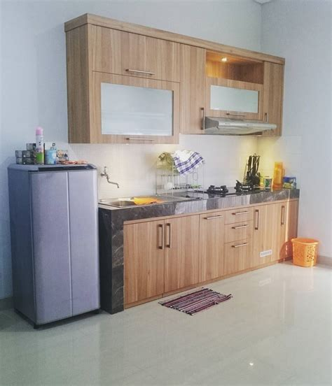 desain interior dapur sederhana 18 model dapur sederhana minimalis dengan kitchen set