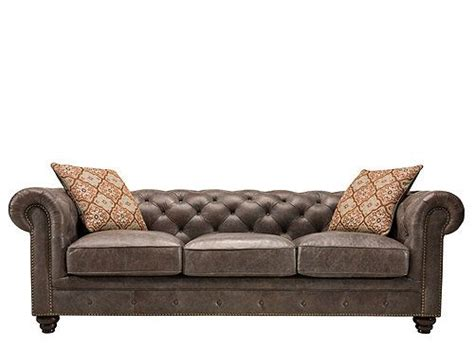Saddler Leather Sofa by Elevate Your Living Room S Style With This Saddler Leather