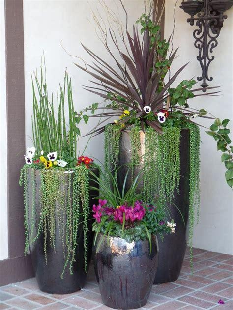 potted garden design ideas tips outdoorthemecom