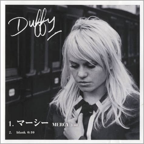 Duffys Mercy Gets Remixed by Duffy Mercy Japanese Promo Cd R Acetate 448516