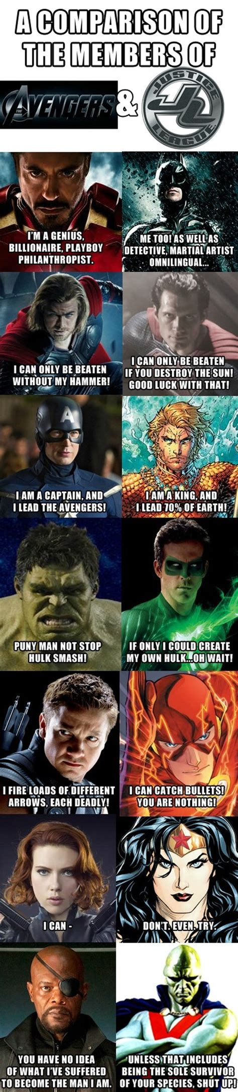 Justice League Meme - 37 hilarious justice league vs avengers memes that might
