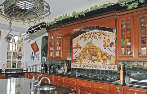 italian kitchen backsplash italian kitchen backsplash idea by artist linda paul