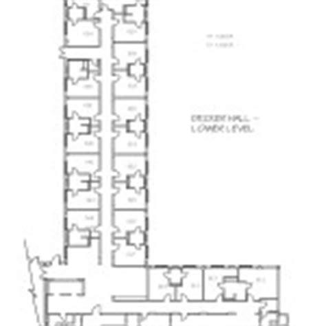 decker floor plan decker residential education and housing