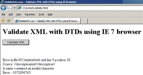 browser pattern validation mobilefish com a tutorial about j2ee deployment