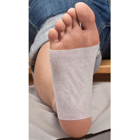 Salt Detox Patches by Himalayan Salt Foot Detox Patches Foot Detox Pads Easy