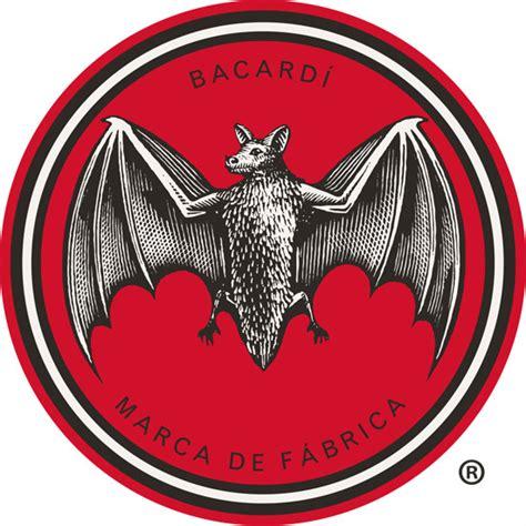 bacardi logo white andrew davidson illustration design