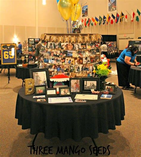 table picture display ideas 20 best ideas about graduation photo displays on